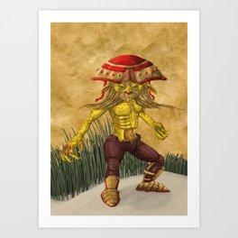 RedCap Art Print