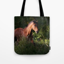 forest runner Tote Bag