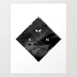Kuro Noir  Art Print