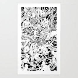 At War With Nature Art Print