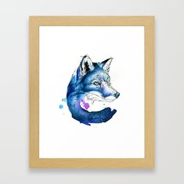 Celestial Fox Framed Art Print