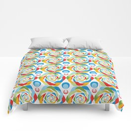 Rose Abstraction Comforters