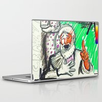 sketch Laptop & iPad Skins featuring Sketch by Alec Goss