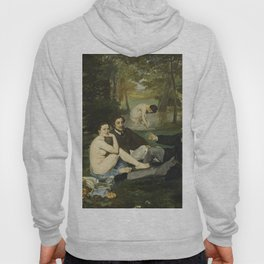 Edouard Manet - Luncheon On The Grass Hoody
