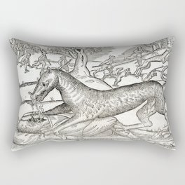 Beast of Cinglais 1632 Rectangular Pillow