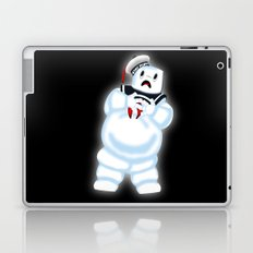 Scared Mr. Stay Puft Laptop & iPad Skin