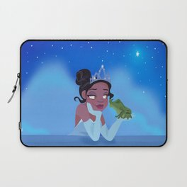 Frog Princess Laptop Sleeve