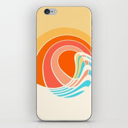 Sun Surf iPhone Skin
