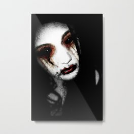 Angel of Loss Metal Print