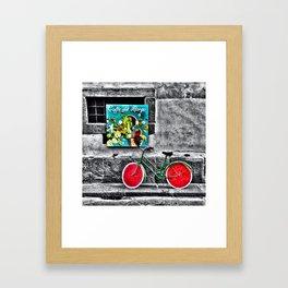 Caffe' Del Borgo Framed Art Print