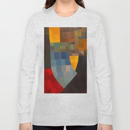 Otto Freundlich Komposition 1930 Mid Century Modern Abstract Colorful Geometric Painting Pattern Art Long Sleeve T-shirt