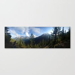 Olympic Mountains Canvas Print