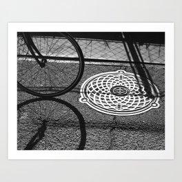 3 Circles Art Print