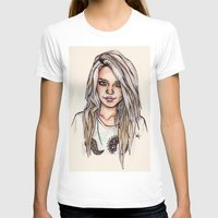 sky ferreira T-shirts featuring Sky Ferreira by vooce & kat