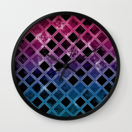 Abstract Geometric Background #16 Wall Clock
