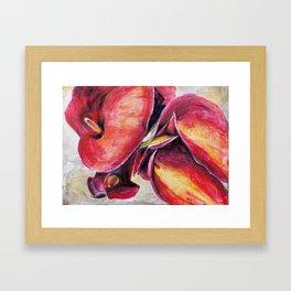 Calla Lillies #2 Framed Art Print