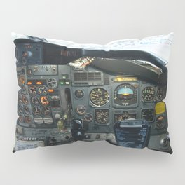 737 Airliner Cockpit Pillow Sham