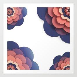 Floral // Border Art Print