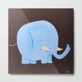 Mod Elephant Metal Print