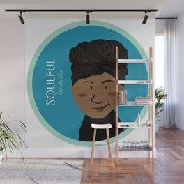 Soulful like Aretha Franklin Wall Mural