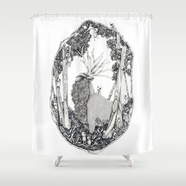 Forest Spirit Shower Curtain