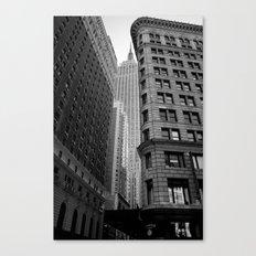 New York Building-1 Canvas Print