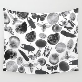 BUGS AND SHELLS Wall Tapestry
