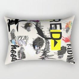 RRH graphic design Rectangular Pillow