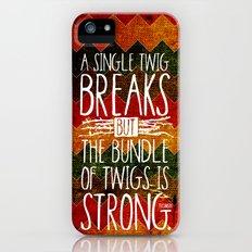 Tecumseh Quote iPhone (5, 5s) Slim Case