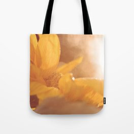 Sun Flare Sunflower Tote Bag
