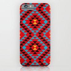 Tribal geometric pattern iPhone 6s Slim Case