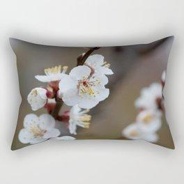 Apricot Blossom Rectangular Pillow