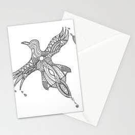 Nothing is just black or white Stationery Cards