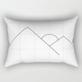 Apex on Grid V2 Rectangular Pillow