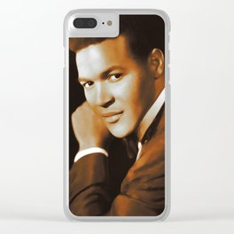 Chubby Checker, Music Legend Clear iPhone Case