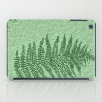 fern iPad Cases featuring Fern by Mr and Mrs Quirynen