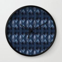 Pussy Pattern 3 Wall Clock