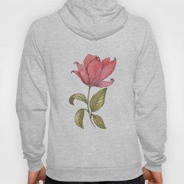 Flower Illustration / Magnolia Hoody