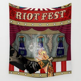 Molotov Cocktail Party Wall Tapestry