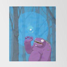 Ghost of Mello Marsh Throw Blanket
