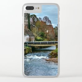 The Castle At Brecon Clear iPhone Case