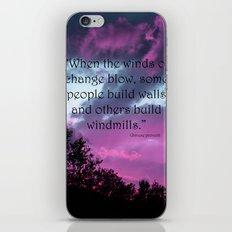 Wind of Change iPhone & iPod Skin