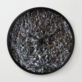 Foil Wall Clock