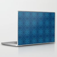 knit Laptop & iPad Skins featuring Knit Reflection by Katie Troisi