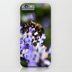 Bee on lavander iPhone 6 Slim Case