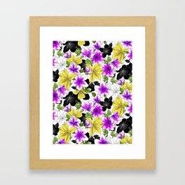 Botanical Bliss Framed Art Print