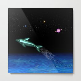 Astral Sea Metal Print