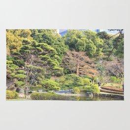 Imperial Garden, Tokyo, Japan Rug