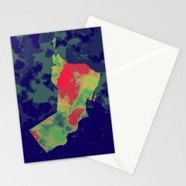 OMAN - Heat It Up Stationery Cards