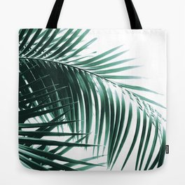 Palm Leaves Green Vibes #8 #tropical #decor #art #society6 Tote Bag